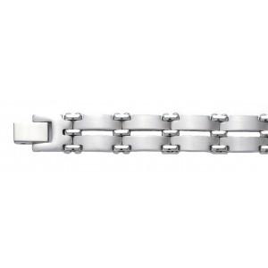 Bracelet double tout acier