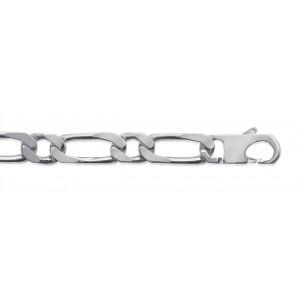 Bracelet Homme Argent maille alternée 1/1 Maxi Modele