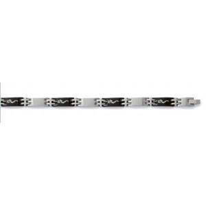 Bracelet résine et acier motif Dragon